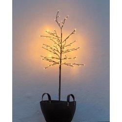 Noah lystræ  på spyd, H 150 cm, 160 LED lys