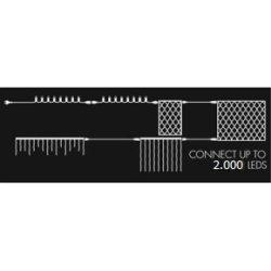 Top-Line Lyskæde Startsæt, 200 LED