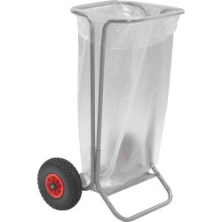 Ravendo affaldsvogn/havevogn, Punkterfri dæk