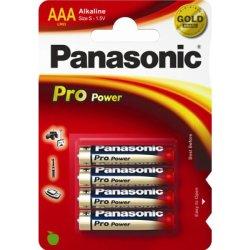 Panasonic str. AAA Pro Power Gold batteri, 4stk