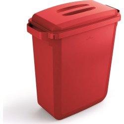 """Låg """"håndtag"""" til affaldsspand 60 l, Rød"""
