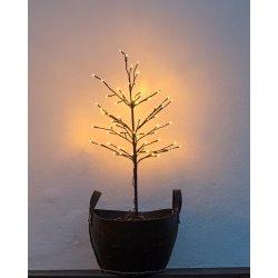 Noah lystræ på spyd, H 110 cm, 80 LED lys
