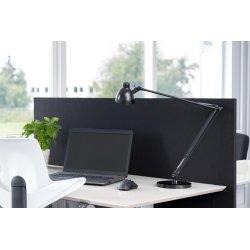 Easy bordskærmvæg H65xB180 cm sort