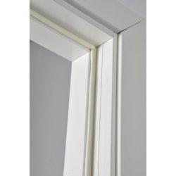 Selvklæbende tætningssliste, E-form, hvid, 24 m