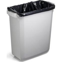 Affaldsspand 60 l, (HxBxD) 555x285x615, Blå