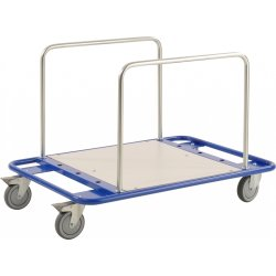 Transportvogn med 5 bøjler, 150 kg, 100x70x69 cm