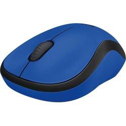 Logitech M220 Silent-mus, blå