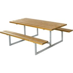 Plus Basic bord-bænkesæt, Lærk