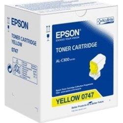 Epson C13S050747 lasertoner, gul, 8800s