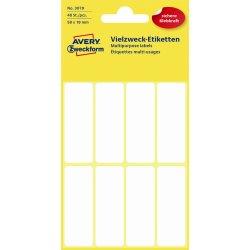 Avery 3079 manuelle etiketter 50 x 19mm, 48 stk