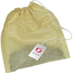 Tefilter med snor, 1000 stk.