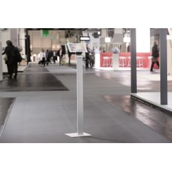 Durable gulvstander til iPad/tablet, aluminium