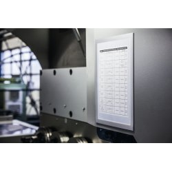 Durable DURAFRAME Magnetic A4 Plus, sølv, 2 stk.