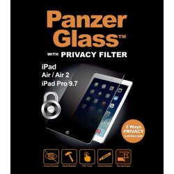 PanzerGlass privacyfilter til iPad Air 1/2/Pro9,7""