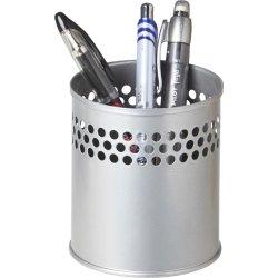 Twin Metal Penneholder, sølv