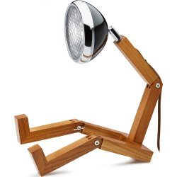 Piffany Copenhagen Mr. Wattson LED lampe, sort