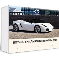 Oplevelsesgave - Testkør en Lamborghini