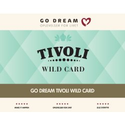 Oplevelsesgave - Tivoli Wild Card 2017/2018