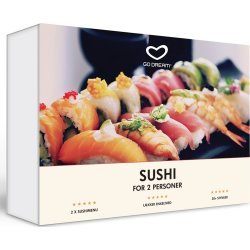 Oplevelsesgave - Sushi for 2