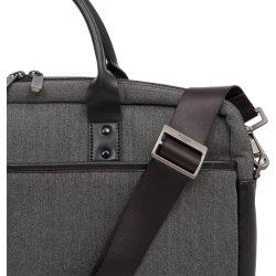 "Knomo Princeton 15.6"" computertaske, sort/grå"