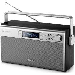 Philips AE5220 DAB+/FM radio, sort