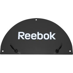 Reebok Studio wall mat rack, sort