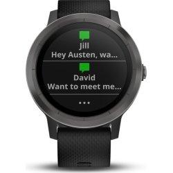 Garmin vívoactive® 3 GPS-smartwatch, sort/grå
