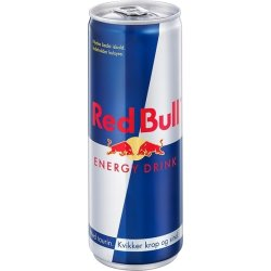Red Bull Energy Drink 25 cl inkl. pant