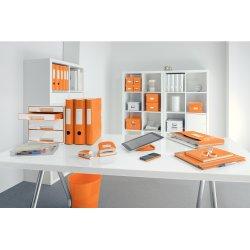 Leitz WOW Mini hæftemaskine, orange metallic