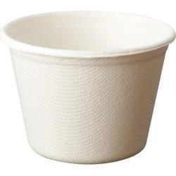 Komposterbar engangsskål, 7,6 x 5,5 cm, 115 ml
