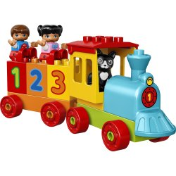 LEGO DUPLO 10847 Tog med tal, 1,5-3 år