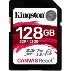 KINGSTON Canvas React 128GB SDXC hukom.kort