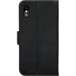dbramante1928, lædercover, iPhone X/Xs, Sort