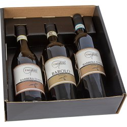 Fagiano Govone d'Asti, Barolo og d'Alba 3 rødvine