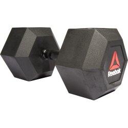 Reebok Hex dumbbell, 45 kg