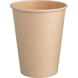 Komposterbar Hot Cup, enkelt lag pap, PLA, 220 ml