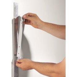 Durable Magnet Wall 5 Displaysystem, sort