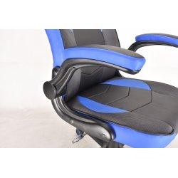 Gear4U Gambit Pro Gamer stol, sort/blå