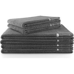 Eva Solo håndklæder, 2 stk. 50x100 & 4 stk. 70x140