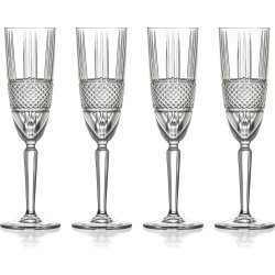 Lyngby Glas Brillante Hvidvinsglas, 4 stk., 23 cl