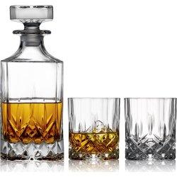 Lyngby Glas Lounge Whiskysæt, 3 dele