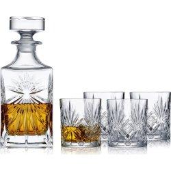 Lyngby Glas Melodia Whiskysæt, 7 dele