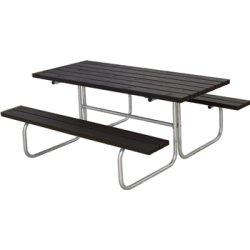 Plus Classic bord-bænkesæt, Sort