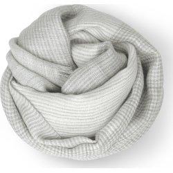 Elvang Milan Tørklæde, 120 x 120 cm, lysegrå