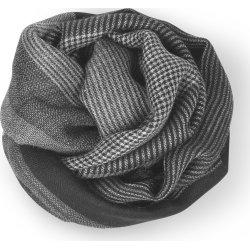 Elvang Milan Tørklæde, 120 x 120 cm, sort