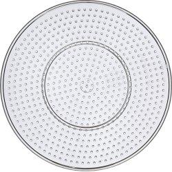 Perleplade, 15 cm, stor cirkel, 10 stk