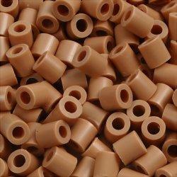 Nabbi Rørperler, 6000 stk, lys brun (20)