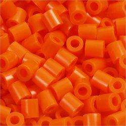 Photo Pearls Rørperler, 6000 stk, klar orange (13)
