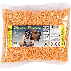 Photo Pearls Rørperler, 6000 stk, lys orange (26)