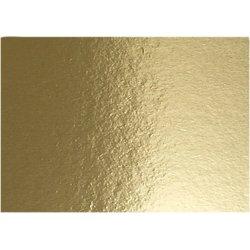 Metalkarton, A4, 280g, 10 ark, guld